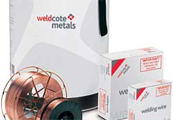 Weldcote filler metals