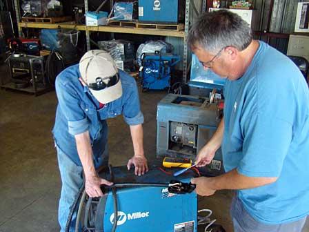 welding machine repair technician